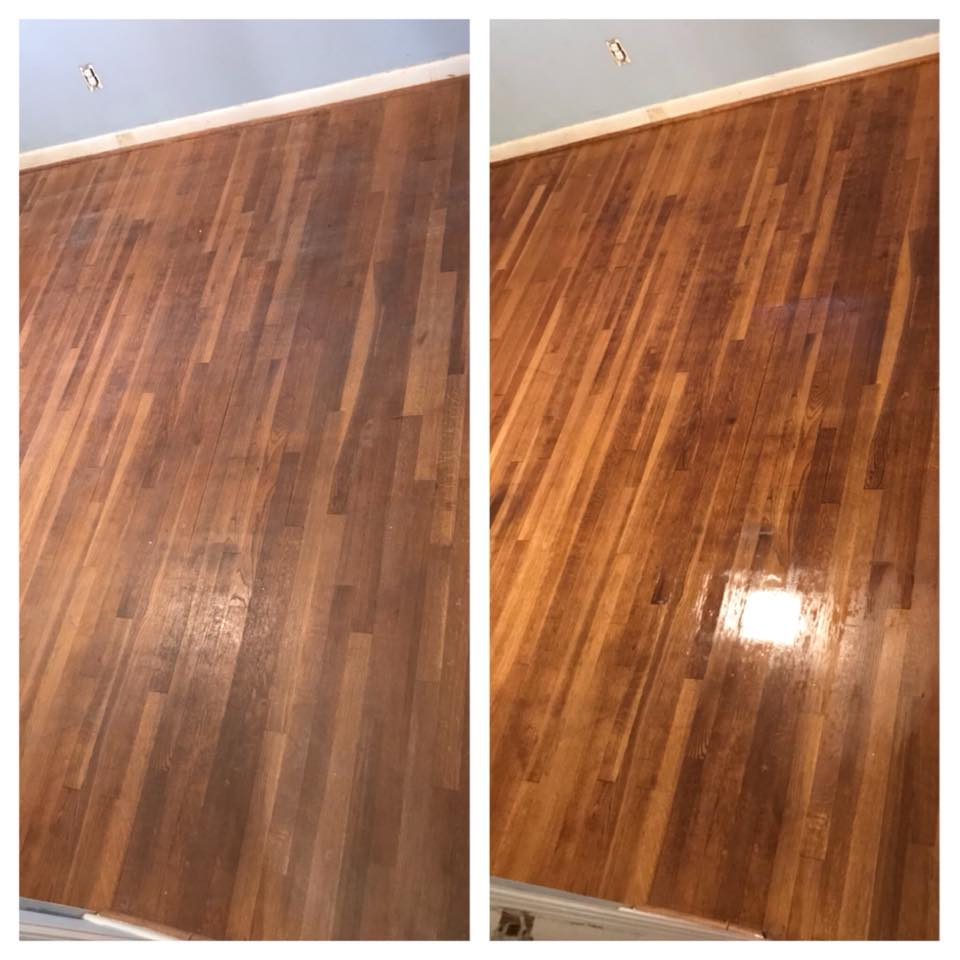 wood floor cleaning tupelo